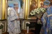 В день своего 80-летия митрополит Крутицкий и Коломенский Ювеналий совершил Литургию в Благовещенском храме Зарайска