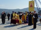 Ковчег с мощами равноапостольного князя Владимира принесен в Петропавловскую и Камчатскую епархию