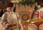 Патриаршее поздравление архидиакону Андрею Мазуру с 65-летием служения в священном сане