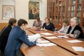 Состоялось заседание редакционной группы для изучения и выработки подходов к формированию учебных пособий ЕУМК для воскресных школ