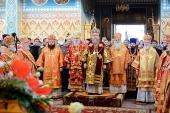 Состоялось празднование дня памяти небесных покровительниц города Алма-Аты — мучениц Веры, Надежды, Любови и Софии