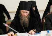 Патриаршее поздравление наместнику Соловецкого монастыряархимандриту Порфирию (Шутову) с 50-летием со дня рождения