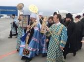 Курская-Коренная икона Божией Матери «Знамение» принесена в Екатеринбургскую епархию