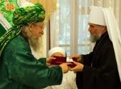 Глава Башкортостанской митрополии награжден медалью Центрального духовного управления мусульман России
