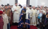 Состоялись торжества по случаю великого освящения храма Двенадцати апостолов в Нарве
