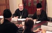 Состоялось первое заседание Общецерковной комиссии по церковному искусству, архитектуре и реставрации