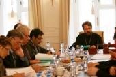 Состоялось первое заседание Совета по теологическому образованию Московской городской епархии