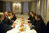 Митрополит Волоколамский Иларион встретился с вице-президентом Бундестага Германии
