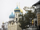Патриаршее служение в канун дня памяти преподобного Сергия Радонежского. Всенощное бдение в Троице-Сергиевой лавре