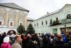 Патриаршее служение в день памяти преподобного Сергия Радонежского. Литургия в Троице-Сергиевой лавре