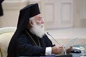 Поздравление Святейшего Патриарха Кирилла Блаженнейшему Патриарху Александрийскому Феодору с годовщиной Патриаршего избрания