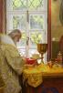 Освящение храма святых бессребреников Космы и Дамиана в Космодемьянском г. Москвы