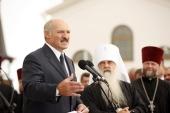 Поздравление Святейшего Патриарха Кирилла А.Г. Лукашенко с победой на выборах Президента Республики Беларусь
