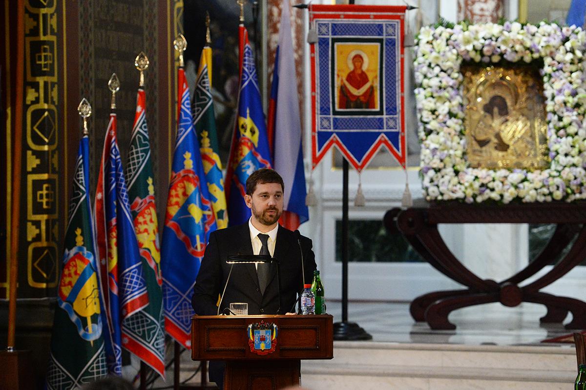 Патриарший визит в Донскую митрополию. Открытие V Всемирного конгресса казаков