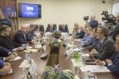 Представитель Русской Православной Церкви принял участие в работе круглого стола в Госдуме, посвященного вопросам противодействия экстремизму и международному терроризму