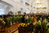 Патриаршее служение в Казанской пустыни в Шамордино. Хиротония архимандрита Тихона (Шевкунова) во епископа Егорьевского