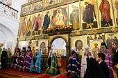 Проповедь Святейшего Патриарха Кирилла после Литургии в Казанской пустыни в Шамордино
