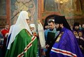 Слово Святейшего Патриарха Кирилла при вручении архиерейского жезла Преосвященному Антонию (Севрюку), епископу Богородскому