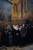 Патриаршее служение в праздник Иверской иконы Божией Матери в Новодевичьем монастыре г. Москвы. Хиротония архимандрита Антония (Севрюка) во епископа Богородского