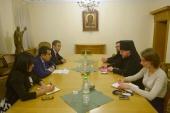 В Отделе внешних церковных связей состоялась встреча с высоким представителем генерального секретаря ООН по «Альянсу цивилизаций»