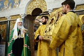Проповедь Святейшего Патриарха Кирилла после Литургии на Черниговском подворье г. Москвы