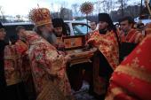18 тысяч верующих Екатеринбургской митрополии поклонились мощам равноапостольного князя Владимира