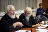 На восьмом пастырском семинаре Синодального отдела по благотворительности и ПСТБИ обсудили вопросы совершения исповеди тяжелобольных и людей с инвалидностью