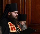 Слово архимандрита Парамона (Голубки) при наречении во епископа Бронницкого
