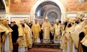 Представители Поместных Православных Церквей приняли участие в Литургии в Киево-Печерской лавре накануне празднования 400-летия Киевской духовной академии