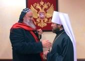 В Россию прибыл глава Сиро-Яковитской Церкви