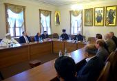 Председатель Отдела внешних церковных связей встретился с лидерами езидов из разных стран мира
