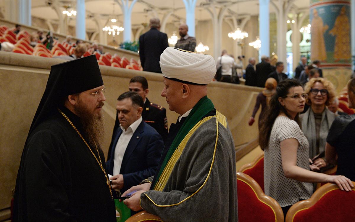 Открытие XIX Всемирного русского народного собора