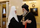 Состоялась встреча Святейшего Патриарха Кирилла с главой Сиро-Яковитской Церкви
