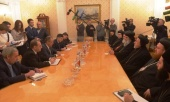 Состоялась встреча Сиро-Яковитского Патриарха с министром иностранных дел России С.В. Лавровым