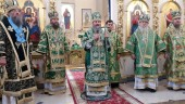 Предстоятель Украинской Православной Церкви возглавил в Запорожье торжества по случаю прославления святого праведного Петра Калнышевского