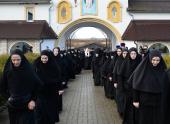 Святейший Патриарх Кирилл посетил Елисаветинский женский монастырь в поселке Приозерье Калининградской области