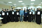 В Москве впервые прошли курсы по обучению священнослужителей общению со слепоглухими людьми