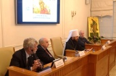 В Общецерковной аспирантуре состоялось первое пленарное заседание международной конференции «Князь Владимир. Цивилизационный выбор»