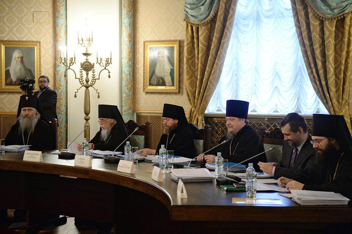 Заседание Высшего Церковного Совета 23 ноября 2015 года