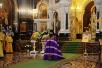 Патриаршее служение в день памяти святителя Филарета Московского в Храме Христа Спасителя. Хиротония архимандрита Парамона (Голубки) во епископа Бронницкого