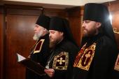 Слово архимандрита Серафима (Савостьянова) при наречении во епископа Тарусского, викария Калужской епархии