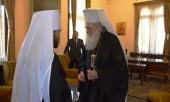 Митрополит Волоколамский Иларион встретился со Святейшим Патриархом Болгарским Неофитом