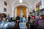 Электронный читальный зал открылся в общедоступной библиотеке Александро‑Невской лавры