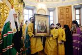 Проповедь Святейшего Патриарха Кирилла после Литургии в Борисоглебском Аносином ставропигиальном монастыре