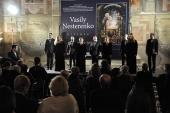 В Риме открылась выставка российского художника В.И. Нестеренко «Свет Христов просвещает всех»