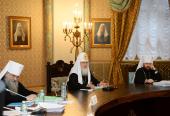 Святейший Патриарх Кирилл: Необходима постоянная площадка для диалога Церкви с миром культуры и искусства