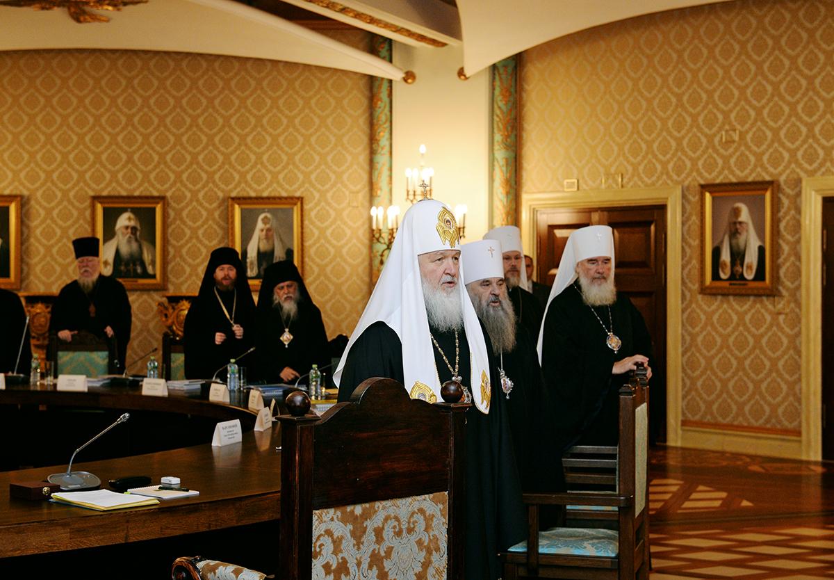 Заседание Высшего Церковного Совета 10 декабря 2015 года