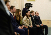 Встреча Святейшего Патриарха Кирилла с представителями Молодежной общественной палаты и Палаты молодых законодателей при Совете Федерации