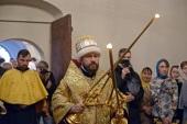 Митрополит Волоколамский Иларион совершил Литургию древнерусским чином в московском храме Покрова Пресвятой Богородицы в Рубцове