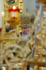 Патриаршее служение в день памяти святителя Николая Чудотворца в Крестовоздвиженском Иерусалимском монастыре. Освящение Вознесенского собора. Литургия. Хиротония архимандрита Сергия (Копылова) во епископа Семилукского